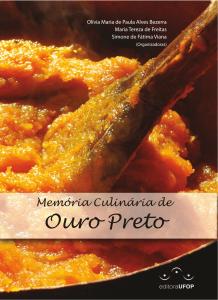 Capa para Memória Culinária de Ouro Preto