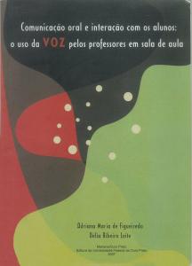 Capa para Comunicação Oral e Interação com os Alunos: O uso da Voz pelos Professores em sala de Aula