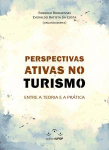 Capa para Perspectivas Ativas no Turismo: entre a teoria e a prática