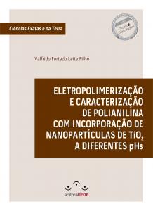 Capa para Eletropolimerização e Caracterização de Polianilina com incorporação de Nanoparticulas de TiO2 a diferentes pHs