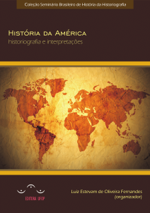 Capa para História da América: historiografia e interpretações