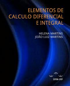 Capa para Elementos de Cálculo Diferencial e Integral