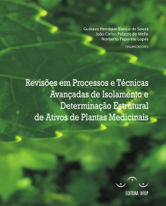 Capa para Revisões em Processos e Técnicas Avançadas de Isolamento e Determinação Estrutural de Ativos de Plantas Medicinais