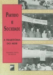 Capa para Partido e Sociedade: a trajetória do MDB
