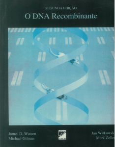 Capa para O DNA Recombinante 2ª Edição