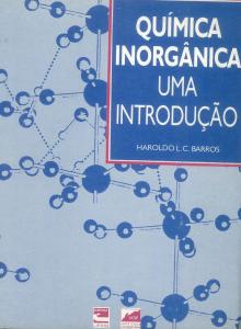 Capa para Química Inorgânica uma introdução